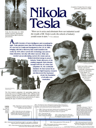 citations de Nikola Tesla