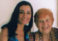 Nina seen here with Dr. Hulda Clark at her clinic (New Century Nutrition)  in Mexico.