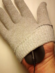 Using the ReBuilder Treatment with Conductive Gloves
